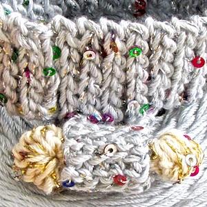 Bling Bam Bangle and DesigningVashti Lotus yarn