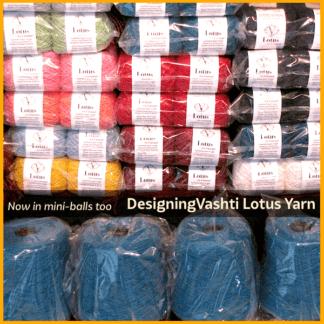 Lotus: Our Z-Twisted Fashion Yarn
